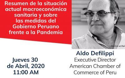 Situación actual macroeconómica y sanitaria sobre las medidas del gobierno Peruano frente a la Pandemia