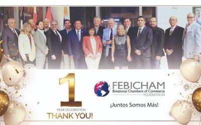 FEBICHAM cumple su primer aniversario, ¡Juntos Somos Más!